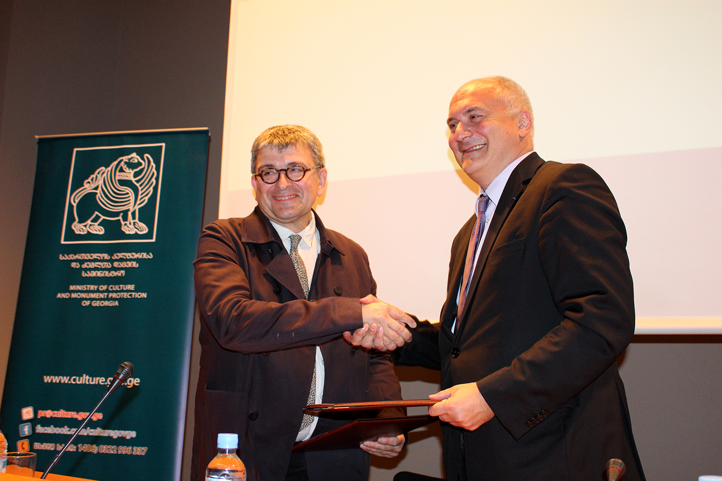 Memorandum of Cooperation with Georgian National Museum and MuCEM