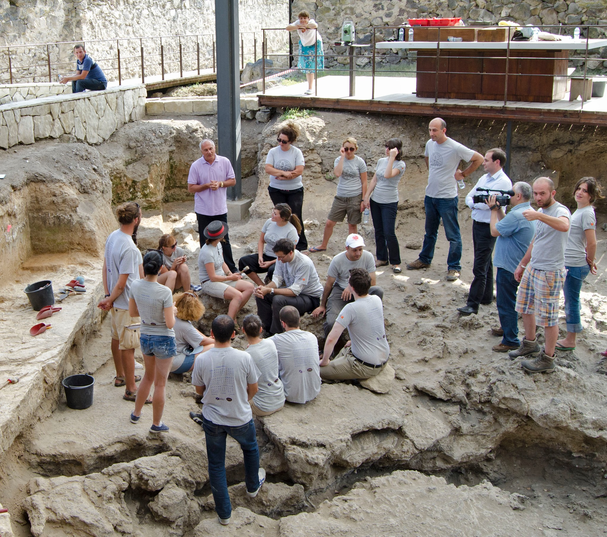 Dmanisi Paleoanthropological Field School is 10 years old